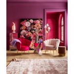 Fotel Muszla Arm Chair Water Lily pink 11