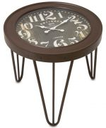 STOLIK SIDE TABLE CLOCK vintage 0