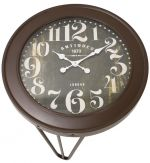 STOLIK SIDE TABLE CLOCK vintage 3