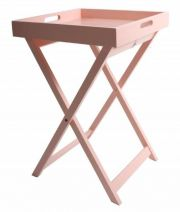 STOLIK SCANDINAVIAN LIVING LIGHT z tacą rosa 0