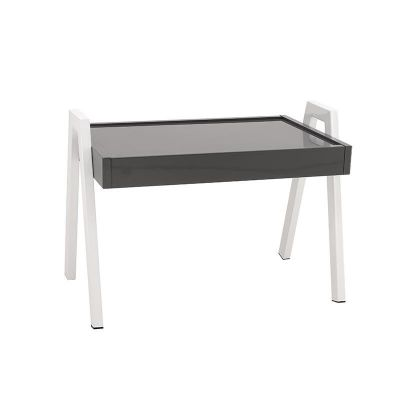 DESIGNERSKI STOLIK WOODEN TABLE grey 0