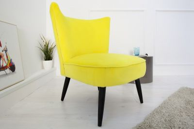 FOTEL SIXTIES yellow 35021 0