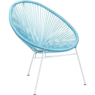 FOTEL SPAGHETTI light blue KARE DESIGN 80739 0