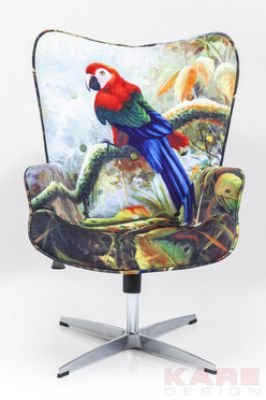 FOTEL SWIVEL CHAIR JUNGLE FOREVER KARE DESIGN 79111 0