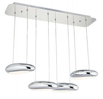 Lampa Bubble Fly 4 chrom
