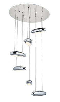 Lampa Bubble Fly 6 chrom