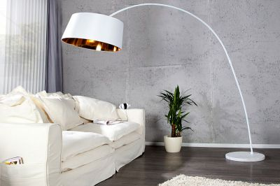 LAMPA FORMA white & gold 22188 0