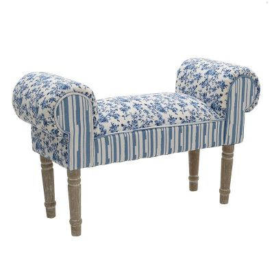 ŁAWKA BENCH WING ROSE blue 0