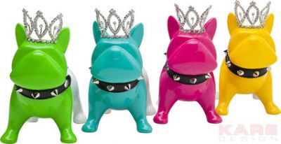 MONEY BOX KING DOG small KARE DESIGN 35927 0