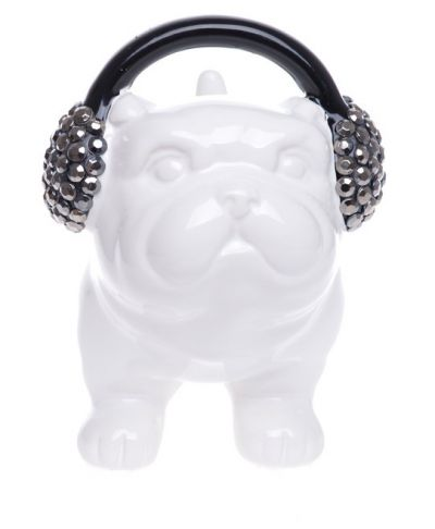 Moneybox Dog Headphones biała