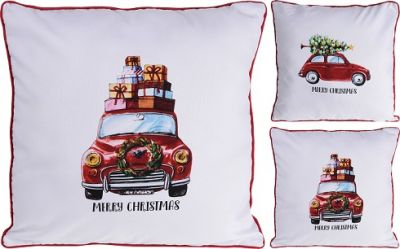 PODUSZKA CUSHION CHRISTMAS CAR  0