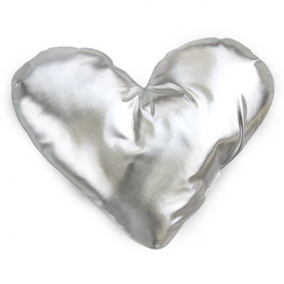 PODUSZKA CUSHION HEART silver 0