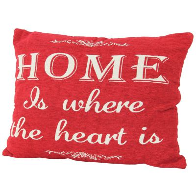 PODUSZKA HOME & HEART red 0