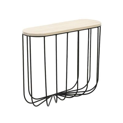 PÓŁKA WALL SHELF WIRE black 0