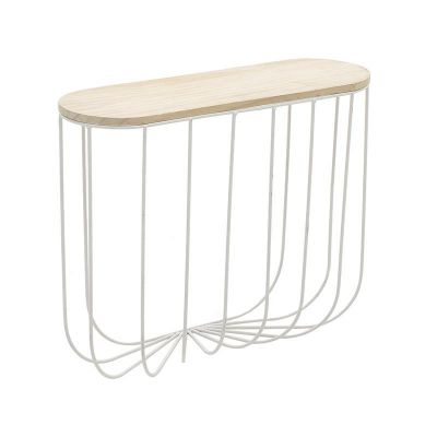 PÓŁKA WALL SHELF WIRE white 0