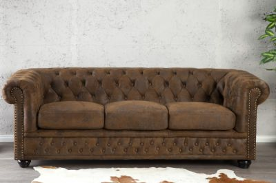 SOFA CHESTERFIELD OXFORD VINTAGE 3 17382 0