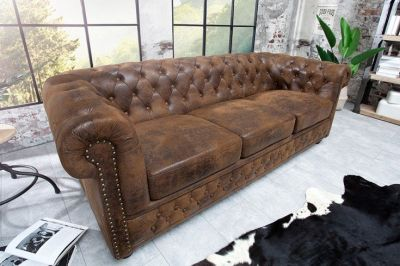 Sofa Chesterfield Oxford vintage 3