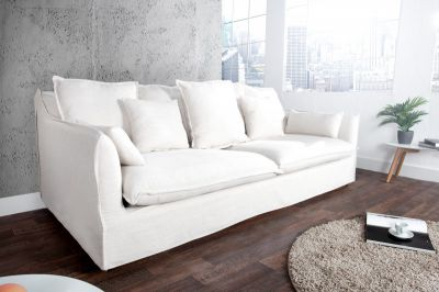 SOFA HEAVEN white stone washed 22689 0