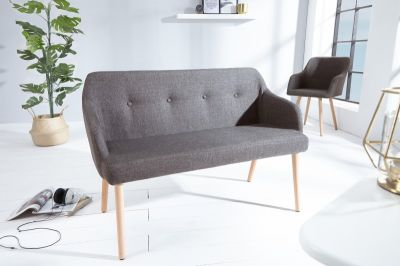 SOFA ŁAWKA SCANDINAVIA dark grey 37926 0