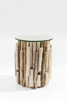 Stolik Side Table Timber Nature Visible
