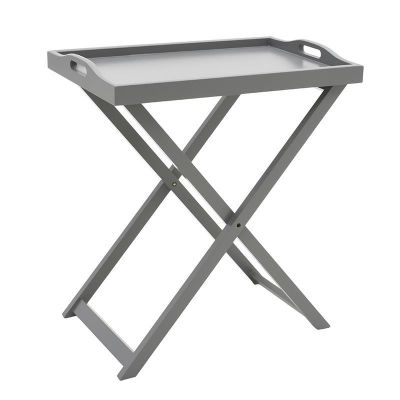 STOLIK Z TACĄ TRAY TABLE grey 0