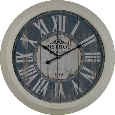 Zegar retro History of Paris 60 cm