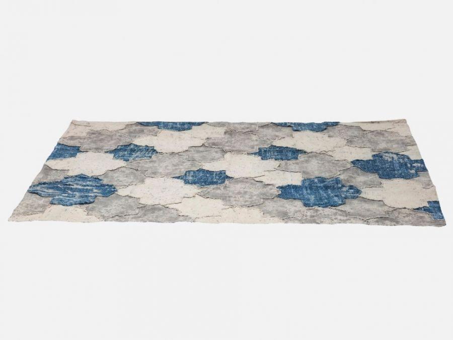 36712 Kare Design Dywan Carpet Vintage Patch Dekoracja Bawe Niane Tkane Meble Nowoczesne