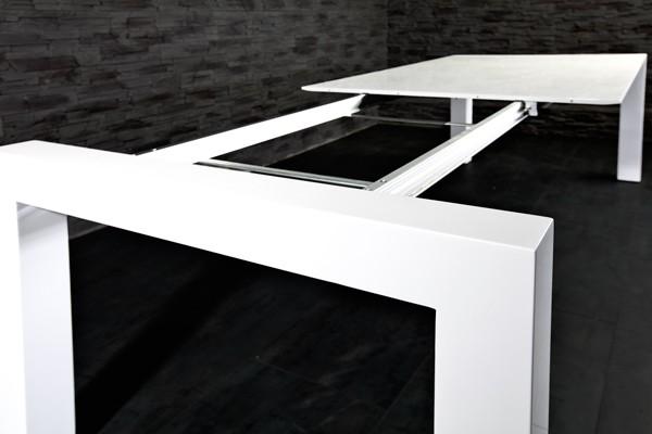 Stół Lhomme Rozkładany 180 220 260 Cm Biały Lakierowany Sklep