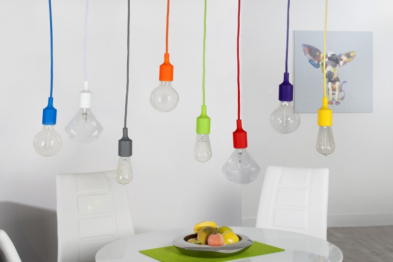 lampa colorful bulbs bunt 8 22865 invicta interior lampy ar wki wisz ca na kablach kolorowe. Black Bedroom Furniture Sets. Home Design Ideas