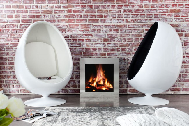 sofa lounge space white 15536 egg eye ball by planeta design ikony designu. Black Bedroom Furniture Sets. Home Design Ideas