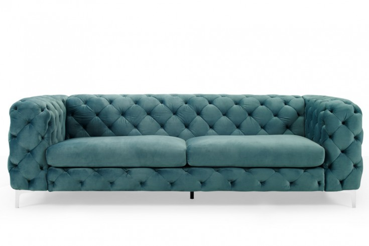 sofa modern barock 3 chesterfield design aqua 38716. Black Bedroom Furniture Sets. Home Design Ideas